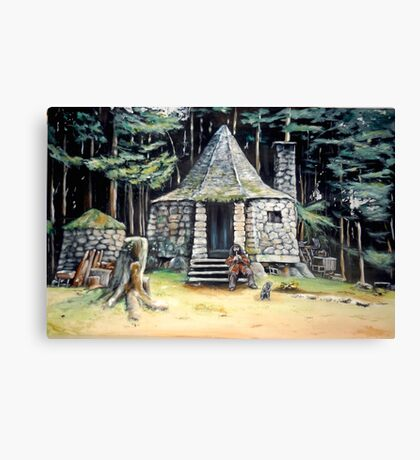 Hagrid's Hut Canvas Print