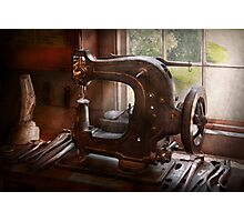 Sewing Machine - Leather - Saddle Sewer Photographic Print