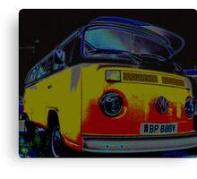 Ice cool camper Canvas Print