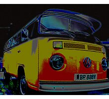 Ice cool camper Photographic Print
