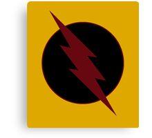 Reverse Flash Logo Canvas Print