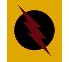 Reverse Flash Logo Photographic Print