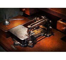 Sewing Machine - Sewing for small hands  Photographic Print