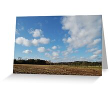 da clouds Greeting Card