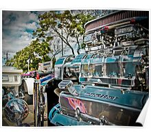 Supercharged Ford V8  Poster
