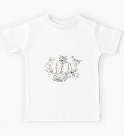 Adolphe Willette Portrait de Jules Lévy par Adolphe Willette 1907 Kids Tee