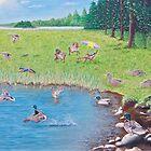 """""""Sitting Ducks"""" by Cindy Longhini"""