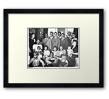 The Original Harris Family Framed Print
