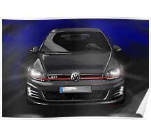 VW Golf MK7 Poster
