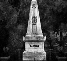 Ludwig van Beethoven Grave. by Lee d'Entremont