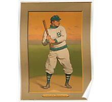Benjamin K Edwards Collection Bill Dahlen Brooklyn Dodgers baseball card portrait Poster