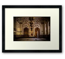 The Grand Ballroom Framed Print