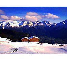 """""""Chalet - Zurich, Switzerland"""" Photographic Print"""
