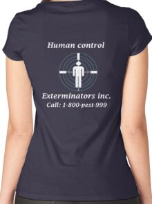 Exterminators Women's Fitted Scoop T-Shirt