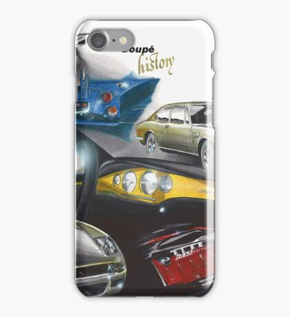 Fiat Coupe History iPhone Case/Skin