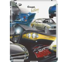 Fiat Coupe History iPad Case/Skin