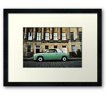 Retro Car Framed Print