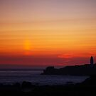 Godrevy Sunset by Paul Thompson Photography