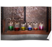 Science - Chemist - Glassware for couples Poster