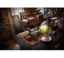 Science - Chemist - Scientific Discoveries  Photographic Print