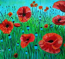 Poppy Field by maggie326
