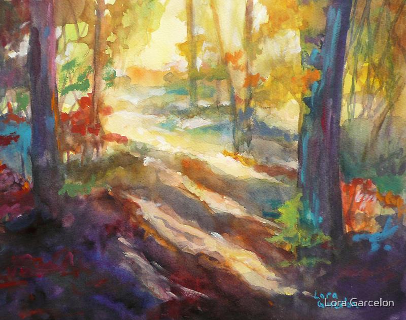 Afternoon Light by Lora Garcelon