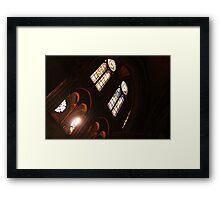 Notre Dame Light Framed Print