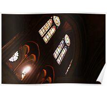 Notre Dame Light Poster