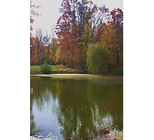 WEEPING WILLOW LAKE Photographic Print