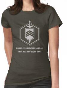 Nightfall Womens Fitted T-Shirt