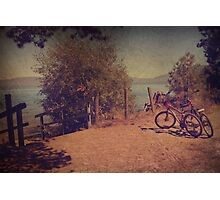 A Ride Down to the Lake Photographic Print