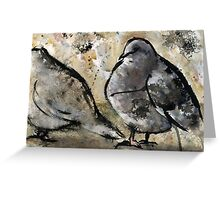 Pigeons #2 Greeting Card