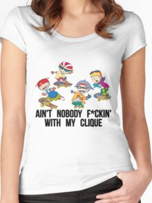 rocket power swag Women's Fitted Scoop T-Shirt