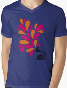 Groove is in the Art Mens V-Neck T-Shirt