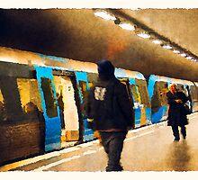 subway by DARREL NEAVES