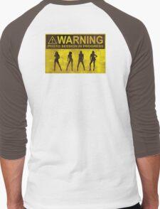 Photo Session In Progress Men's Baseball ¾ T-Shirt