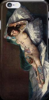Maja's Goya as a suicide girl Street Art by dashiner