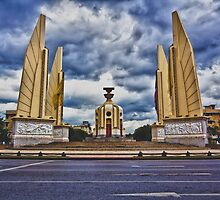 Democracy Monument by Asif Patel