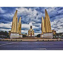 Democracy Monument Photographic Print