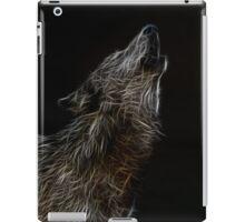 wolf howl  iPad Case/Skin
