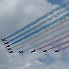 The Red Arrows by kathrynashworth