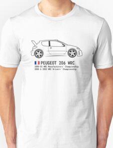 Rally Legends - Peugeot 206 WRC T-Shirt