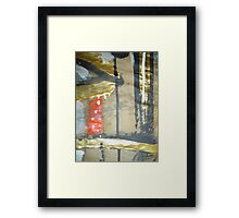 witness 30 Framed Print