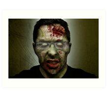 Shawn of the Dead Art Print