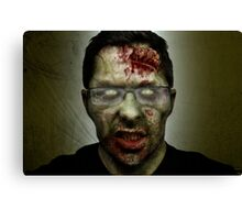 Shawn of the Dead Canvas Print