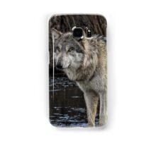 gray wolf  Samsung Galaxy Case/Skin