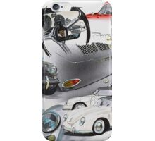 Porsche 356 History iPhone Case/Skin