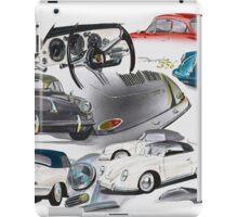 Porsche 356 History iPad Case/Skin