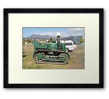 Hobart Show Vintage Equipment No 1- Canendar 2012 Framed Print