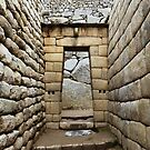 Images Of Peru - Machu Picchu (Inca Architecture 1) by Rebel Kreklow